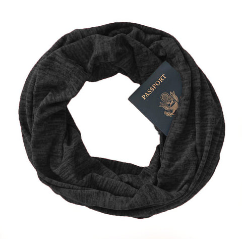 Soda Springs Scarf Graphite - Speakeasy Travel Supply Co.