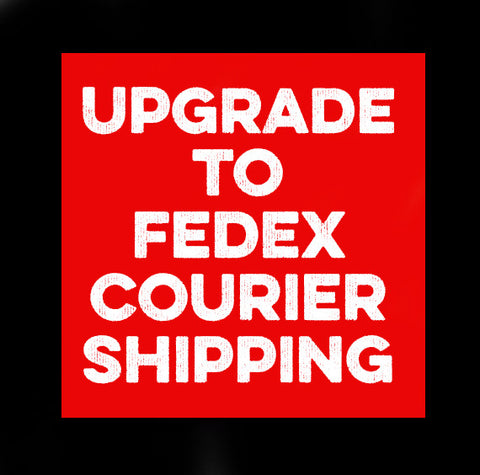 Courier Shipping Upgrade - Speakeasy Travel Supply Co.