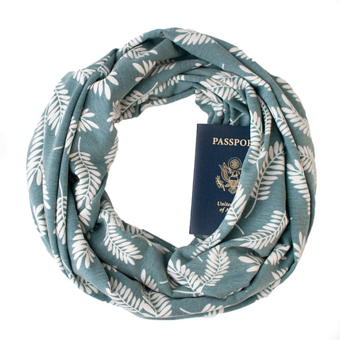 Cascadia Sage Travel Scarf - Speakeasy Travel Supply Co.