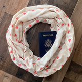 Budding Romance Scarf - Limited