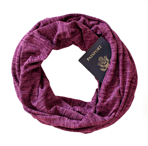 Soda Springs Scarf Fuchsia - Speakeasy Travel Supply Co.