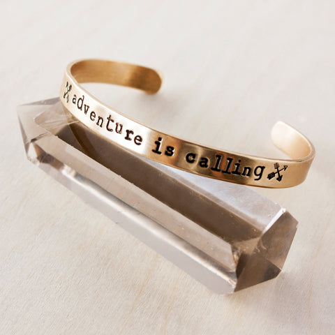 Adventure Is Calling >> Travel Inspired Bracelet - Speakeasy Travel Supply Co.