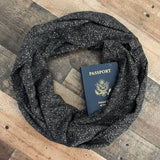 Sparkle Nights Scarf ~ Terra - Speakeasy Travel Supply Co.