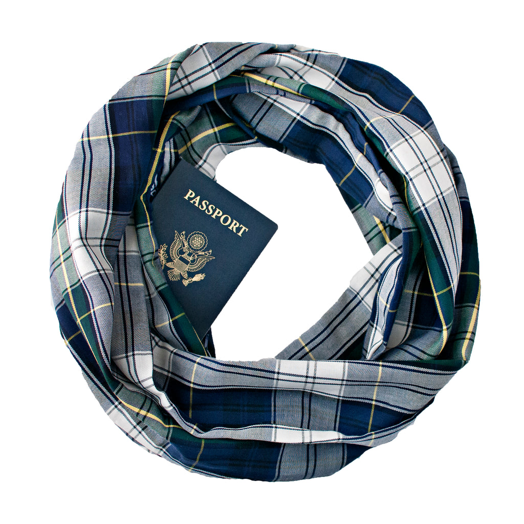 Jackson Travel Scarf - Speakeasy Travel Supply Co.