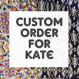 Custom Order for Kate - Speakeasy Travel Supply Co.