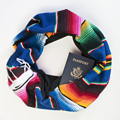 San Felipe Scarf - Speakeasy Travel Supply Co.