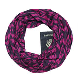 Masasi Scarf in Plum/Fuchsia - Speakeasy Travel Supply Co.