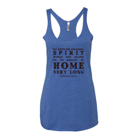 Buffalo Bill Women's Tank - Speakeasy Travel Supply Co.