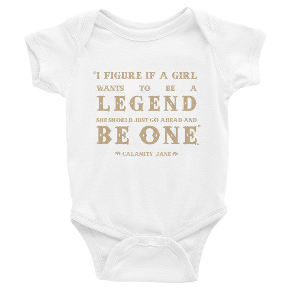 Calamity Jane Onesie 3m - 24m - Speakeasy Travel Supply Co.