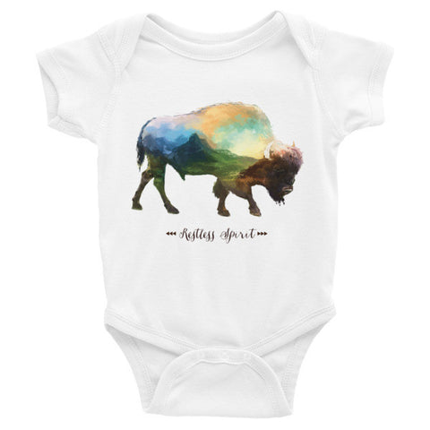 Restless Spirit Onesie 3m - 24m - Speakeasy Travel Supply Co.