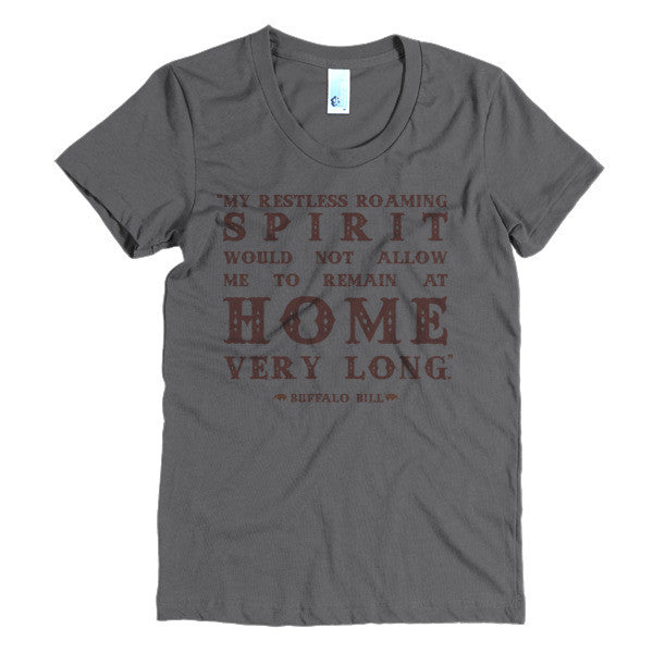 e9a55bbe Buffalo Bill Women's Tee - Speakeasy Travel Supply ...