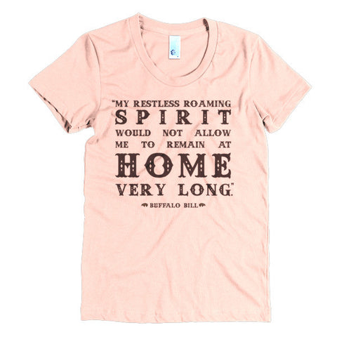 Buffalo Bill Women's Tee - Speakeasy Travel Supply Co.