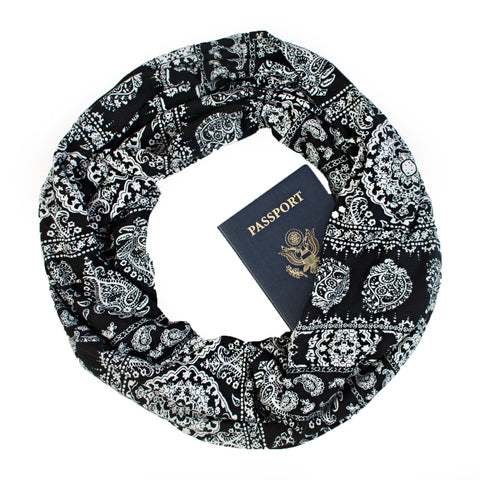 Mykonos Travel Scarf - Speakeasy Travel Supply Co.