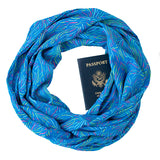 Rainbow Reef Scarf - Speakeasy Travel Supply Co.