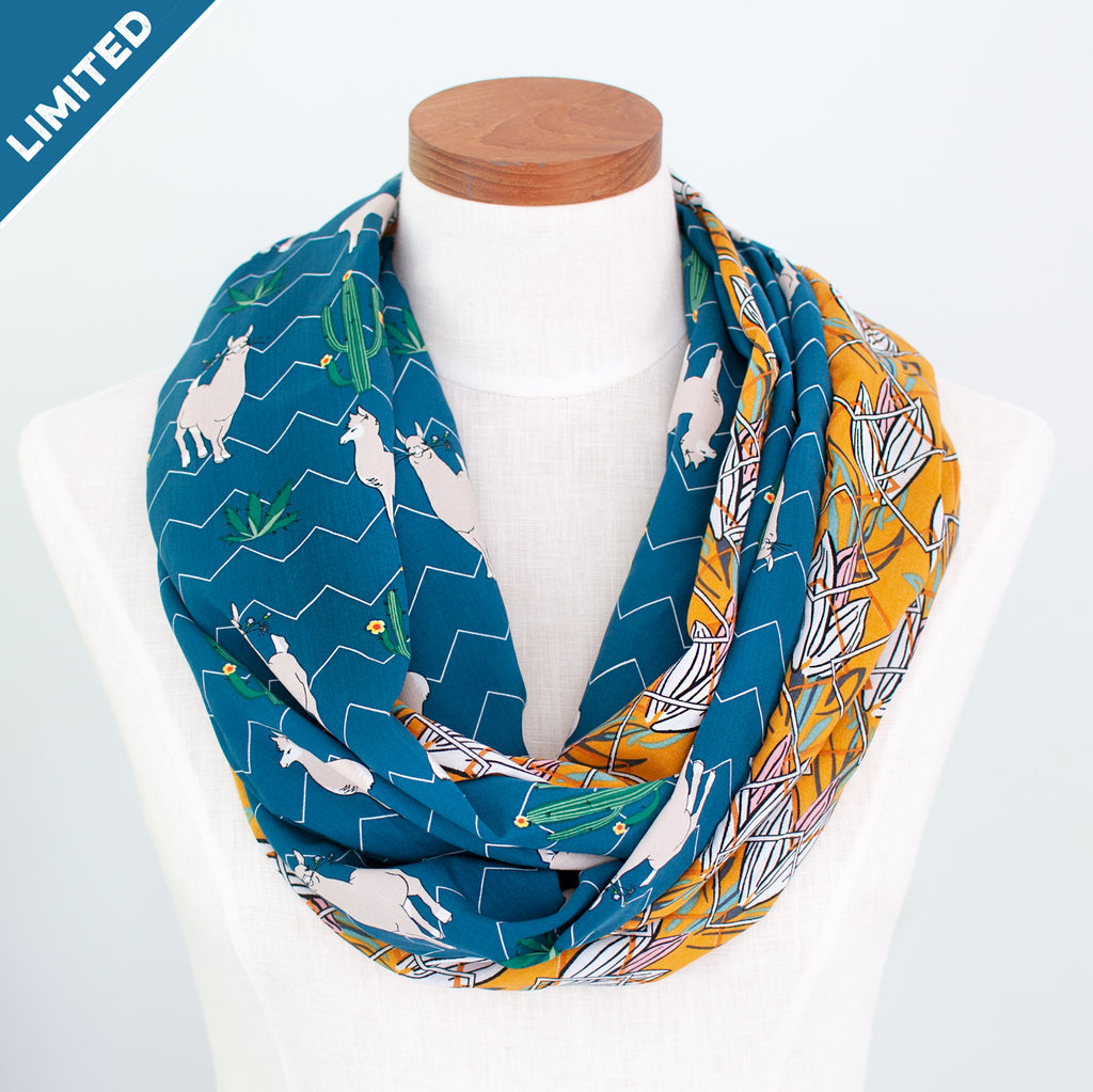 Sacred Valley Scarf - Speakeasy Travel Supply Co.