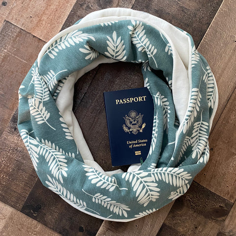 Cascadia Sage + Bamboo Scarf - Limited