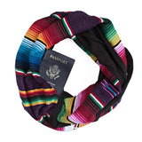 San Felipe Scarf Plum - Speakeasy Travel Supply Co.