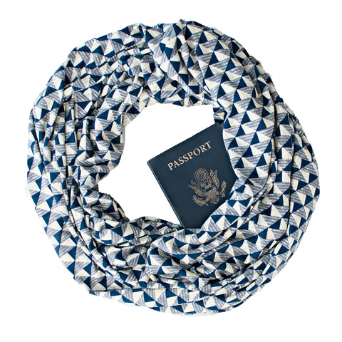 Utrecht Grey Scarf - Speakeasy Travel Supply Co.