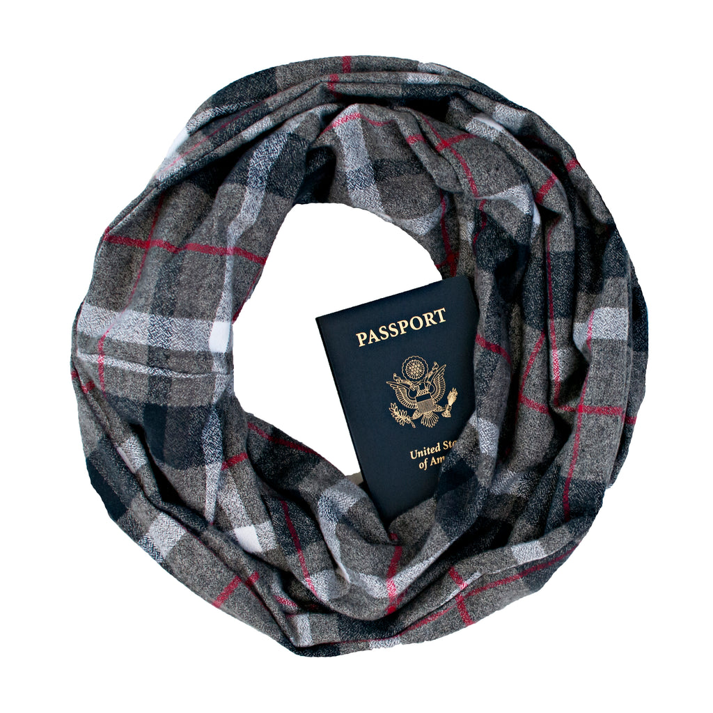 Whistler Flannel Scarf - Speakeasy Travel Supply Co.