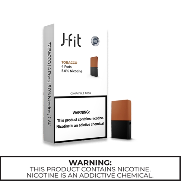 J-Fit Pods 5.0% (50mg)