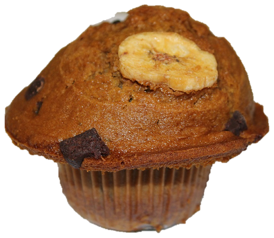 Banana Chocolate Chunk Muffins