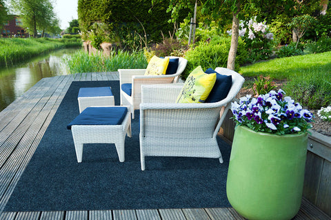 Your feet will thank you for this outdoor rug when it gets cold at night.