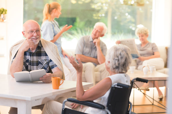 Opportunities for social interaction keep seniors from feeling lonely or isolated.