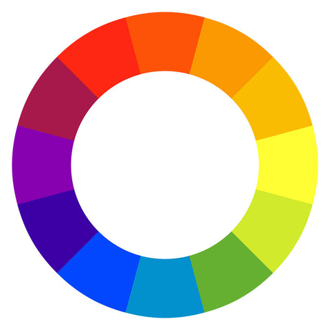 Meet the color wheel, the ultimate tool for color matching.