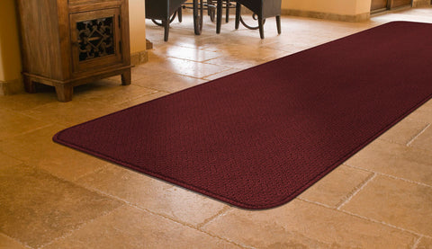 Give your toes the treat of walking across a freshly cleaned carpet runner.