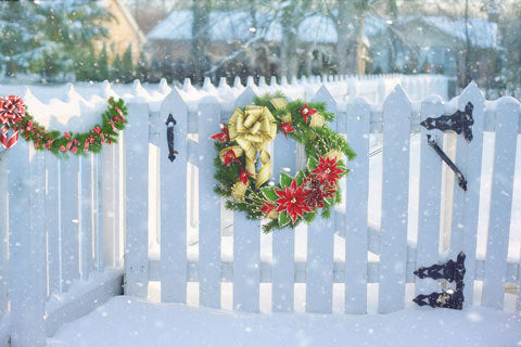 Don't forget, half the fun of decorating for Christmas is doing it outside.