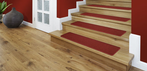 Touch up the paint on your trim, add some stair treads, and you're ready to go.