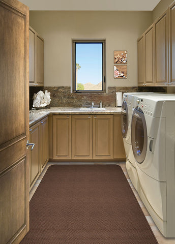 A Laundry Room Rug Keeps Your Toes Cozy All Year Round!