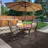 ... Heavy Duty Ribbed Indoor/Outdoor Carpet Tuscan Brown ...