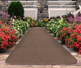 Outdoor Carpet Runner Brown