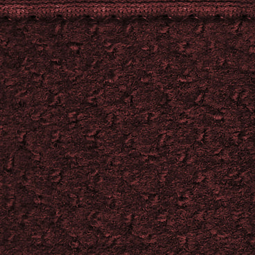 Attachable Rug for Stair Landings Burgundy Red