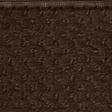 Attachable Rug for Stair Landings Chocolate Brown