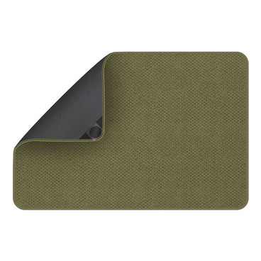 Attachable Rug for Stair Landings Olive Green