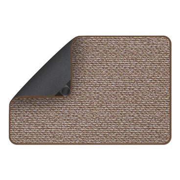 Attachable Rug for Stair Landings Praline Brown