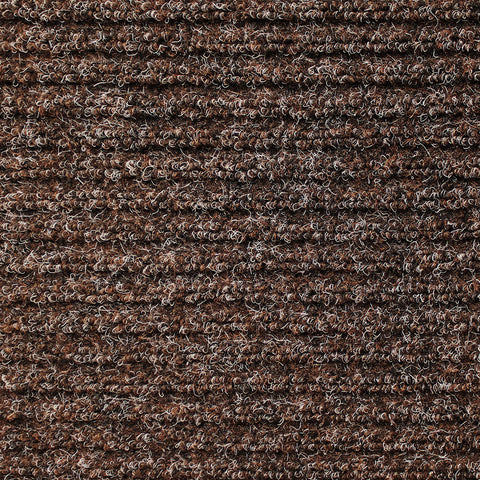 Skid-Resistant Heavy-Duty Door Mat Tuscan Brown