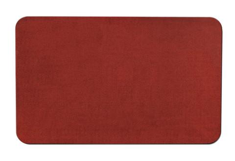 Skid-Resistant Area Rug Brick Red