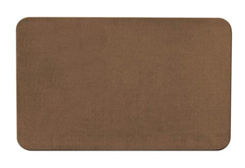 Skid-Resistant Area Rug Toffee Brown