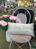 Born to dance pillow-last one!