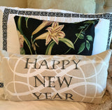 new year holiday pillow-only 3 left!