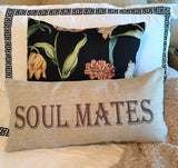 soul mates-happily ever after romantic pillow