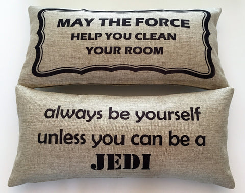 Starwars-Be a Jedi Pillow