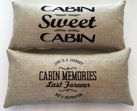 Cabin Memories Pillow