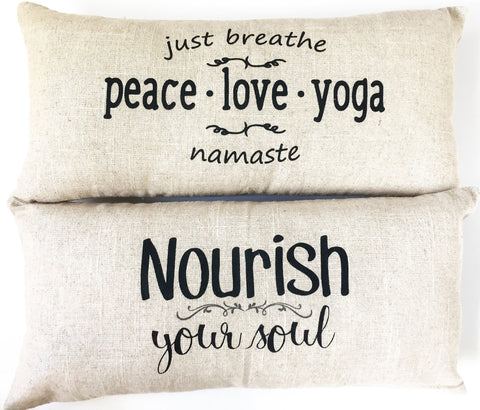 Yoga-Namaste pillow