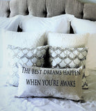 Dream a little dream pillow