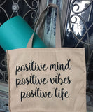Life is Yoga Tote (2 sided)