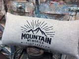 Mountain Memories Indoor-Outdoor Pillow